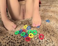 Girl With Playful Feet - scene 2