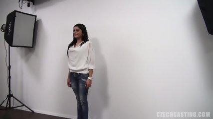 Interview With Lovely Brunette - scene 7