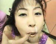 Bukkake Japanese Cum Swap - scene 2