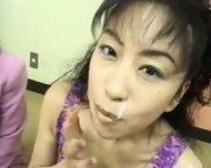 Bukkake Japanese Cum Swap - scene 3