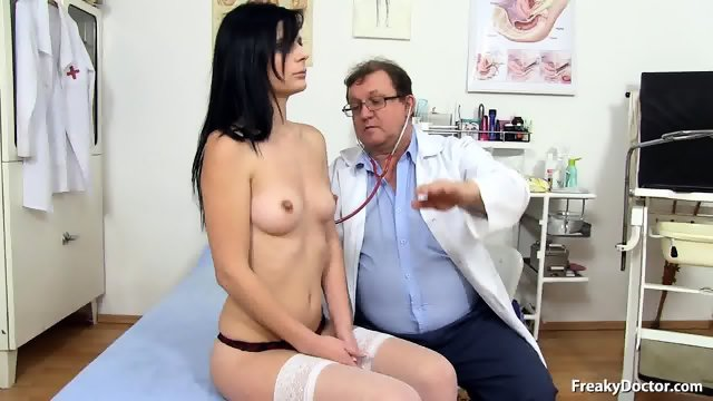 Strange Experiments With Her Pussy