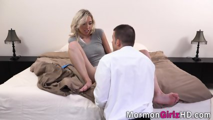 Blonde missionary plowed