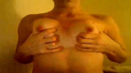 Webcam slut plays with boobies - scene 8