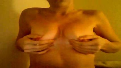 Webcam slut plays with boobies - scene 10