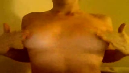 Webcam slut plays with boobies - scene 11