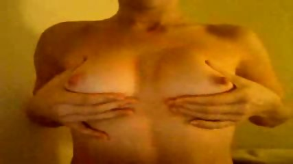 Webcam slut plays with boobies - scene 7