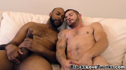 Black Dude Drills Butt - scene 8