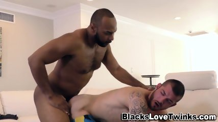 Black Dude Drills Butt - scene 6