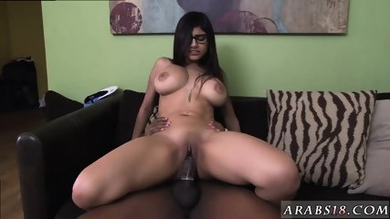 Hot arabic girl and with pig tails xxx Mia Khalifa Tries A Big Black Dick