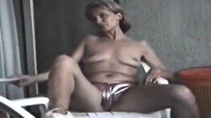 Nude mature in the wild - scene 9