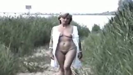 Nude mature in the wild - scene 2