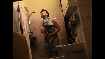 German Granny Nude In Bathroom - scene 2