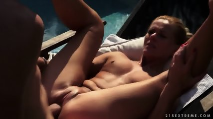 With Nice Blonde At The Pool - scene 12