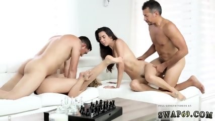 Teen takes two big dicks xxx The Double Date Dilemma