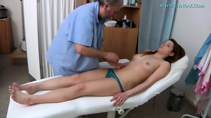 Brunette Needs Gyno Exam - scene 3