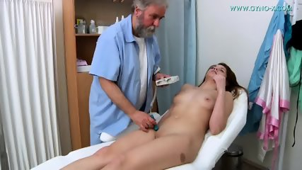 Brunette Needs Gyno Exam - scene 4