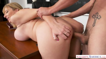 Busty MILF Is Horny Teacher - scene 8
