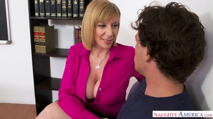 Busty MILF Is Horny Teacher - scene 4
