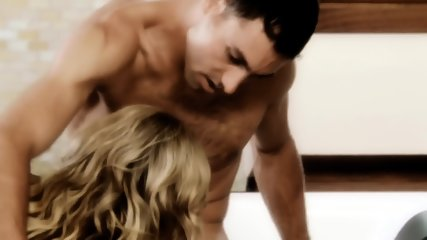Nice Blonde Humps With Handsome Guy - scene 10