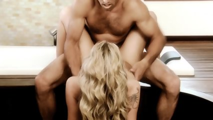 Nice Blonde Humps With Handsome Guy - scene 12