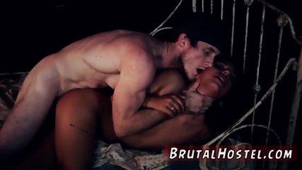 Brutal anal dildo bondage and skull fuck gag She left her beau after catching him