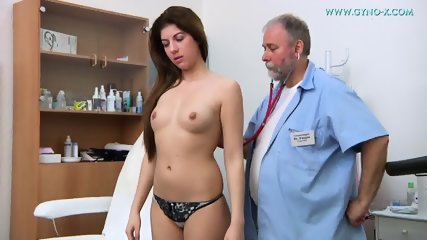 Doctor Takes Care Of Her Vagina - scene 1