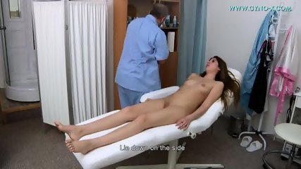 Doctor Takes Care Of Her Vagina - scene 4