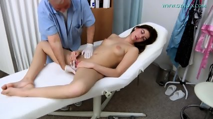 Doctor Takes Care Of Her Vagina - scene 6