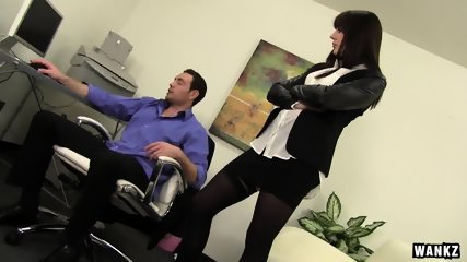 Girl With Hairy Pussy And Stockings Gets Pounded - scene 2