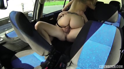 Banging With A Slut In The Car