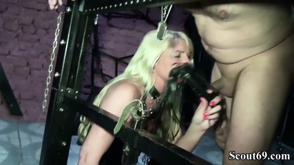 Two German Dominas In Femdom Fuck With Her Slave In Dom - scene 4