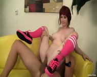Young Redhead Loves Hardcore Sex - scene 9