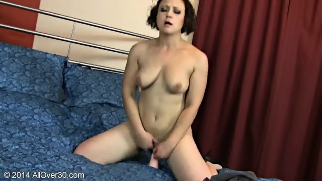 Naughty Housewife And Her Dildo