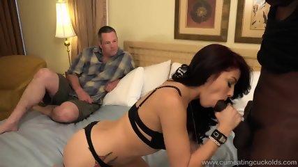 Black Cock In His Girlfriend - scene 1