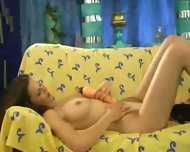 French Chick having Telephone Sex - scene 10