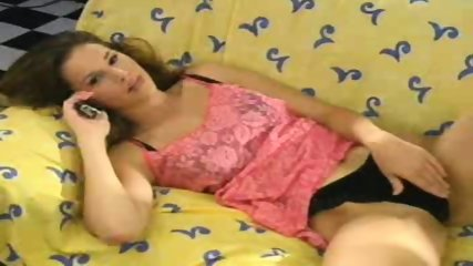 French Chick having Telephone Sex - scene 3