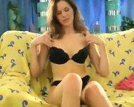 French Chick having Telephone Sex - scene 6