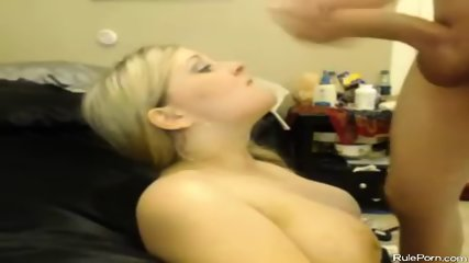 Busty Web Cam Girl Fucking And Takes Facial - scene 7