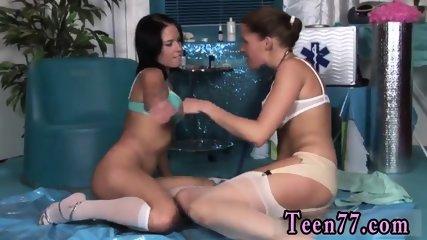 Sweaty teen and sexy shaved pussy massage Horny youthfull nurses