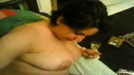 Amateur fucks BBW wife - scene 12
