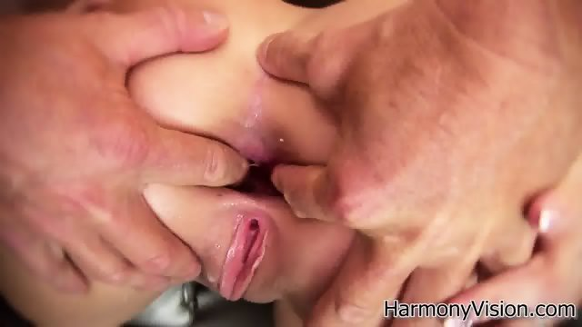 Hardcore Ass Hole Stretching