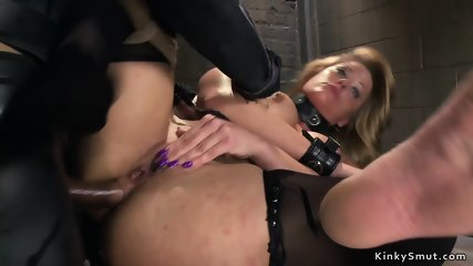 Different Milfs and babes anal trained