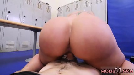 Thick milf riding dildo Dominant MILF Gets A Creampie After Anal Sex