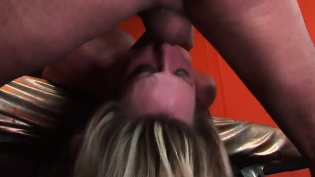 Blonde Fucked Hard In Her Mouth