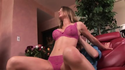 Nice Moments With Busty Blonde Caroline - scene 1