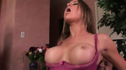 Nice Moments With Busty Blonde Caroline - scene 7