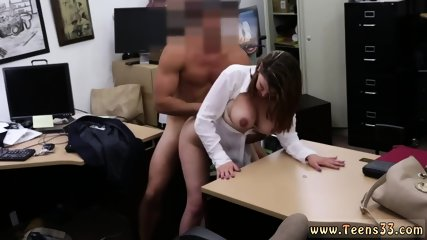 Amateur college bathroom fuck and pays rent Foxy Business Lady Gets Fucked!