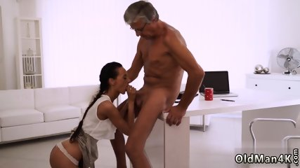 Old mature young first time Finally she s got her boss dick