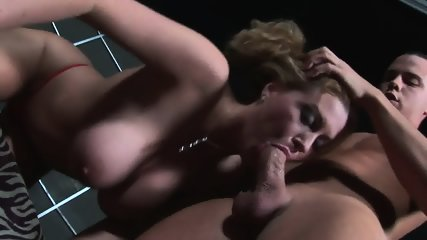 Cum On Her Big Tits After Face Fucking - scene 2