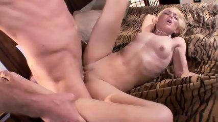 Nice Blonde Banged On Bed - scene 6
